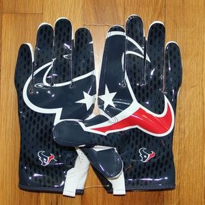 NEW Nike Vapor Knit Houston Texans Football Gloves